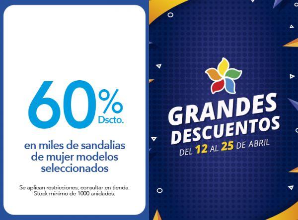 60% DSCTO.EN MILES DE SANDALIAS DE MUJER MODELOS SELECCIONADOS FOOTLOOSE - Mall del Sur