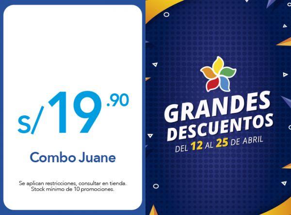 COMBO JUANE A SOLO S/ 19.90 La Choza de la Anaconda - Mall del Sur