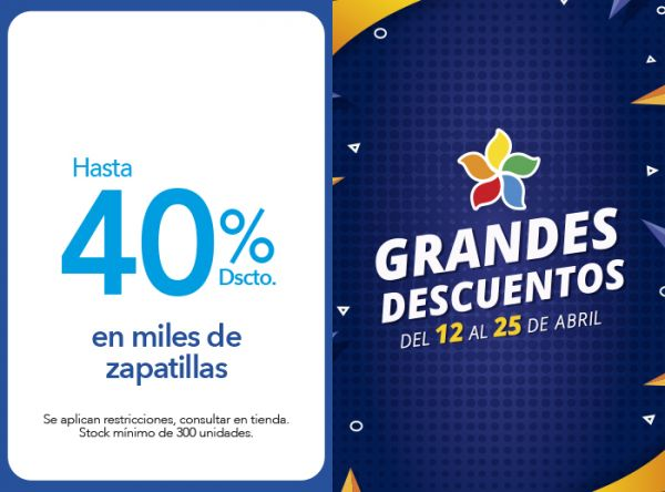 HASTA 40% DSCTO. EN MILES DE ZAPATILLAS Top Model - Mall del Sur