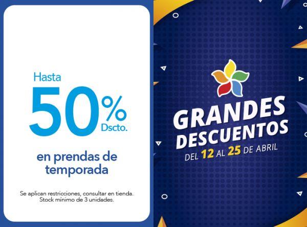 HASTA 50% DSCTO. EN PRENDAS DE TEMPORADA TOPI TOP - Mall del Sur