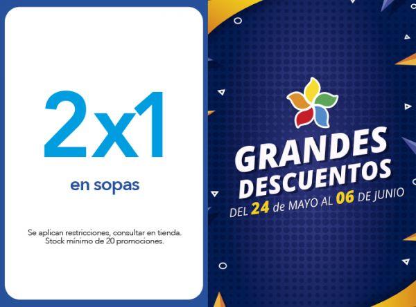 2 X 1 EN SOPAS - Plaza Norte