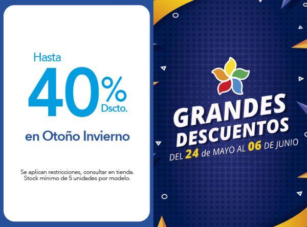 HASTA 40% DSCTO. EN OTOÑO INVIERNO. - Plaza Norte