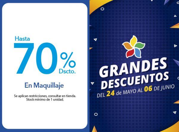 HASTA 70% DSCTO. EN MAQUILLAJE - Plaza Norte