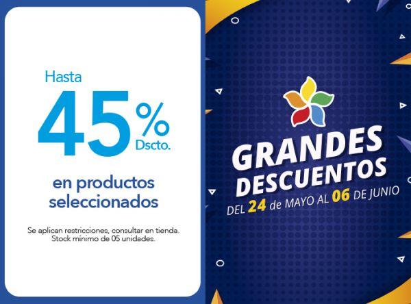 HASTA 45% DSCTO. EN PRODUCTOS SELECCIONADOS - Plaza Norte