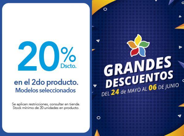 20% DSCTO EN EL 2DO PRODUCTO. MODELOS SELECCIONADOS - Plaza Norte