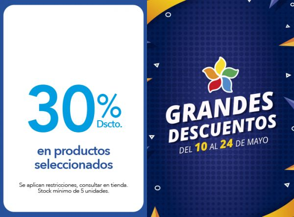 30%  DSCTO. EN PRODUCTOS SELECCIONADOS. Azaleia - Mall del Sur