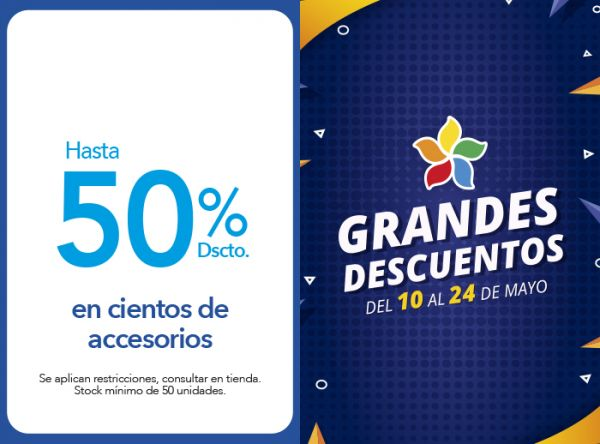HASTA 50% DSCTO. EN CIENTOS DE ACCESORIOS BE SIFRAH - Mall del Sur