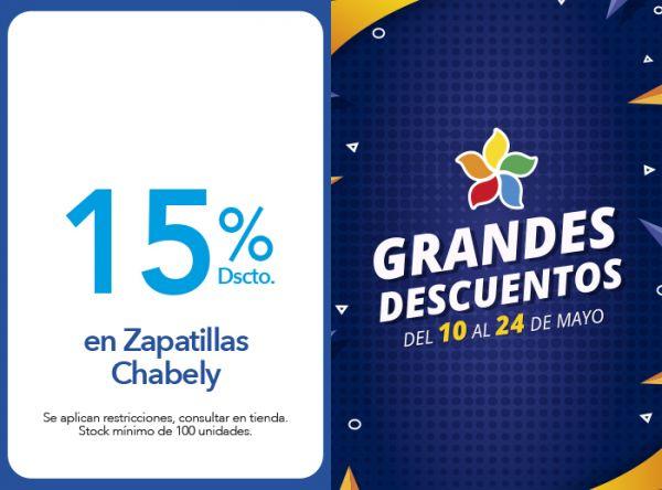 15% DSCTO.EN ZAPATILLAS CHABELY Calimod - Mall del Sur