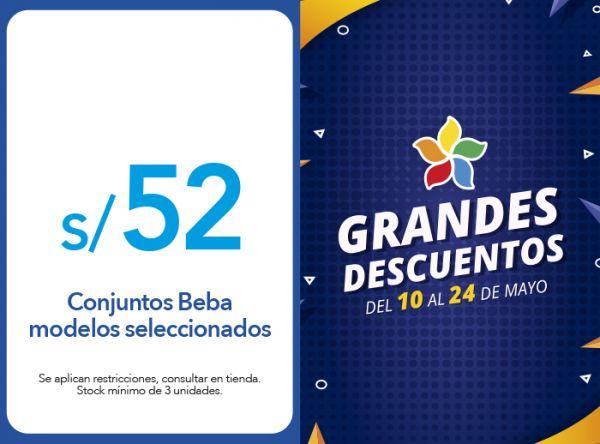 CONJUNTOS BEBA S/ 52.00 MODELOS  SELECCIONADOS Cicibet - Mall del Sur