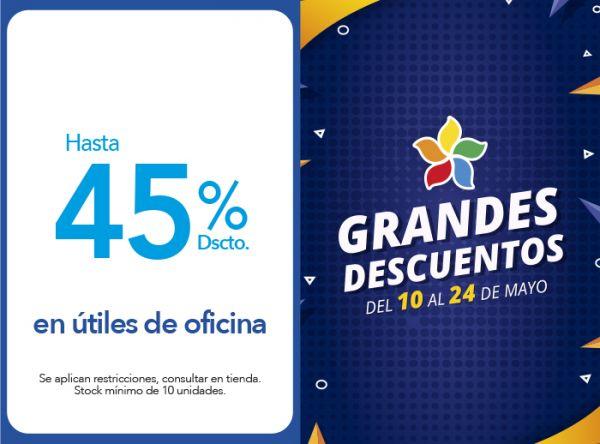 HASTA 45% DSCTO. EN ÚTILES DE OFICINA Tai Loy - Mall del Sur