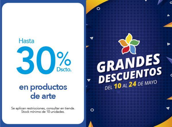 HASTA 30% DSCTO. EN PRODUCTOS DE ARTE Tai Loy - Mall del Sur