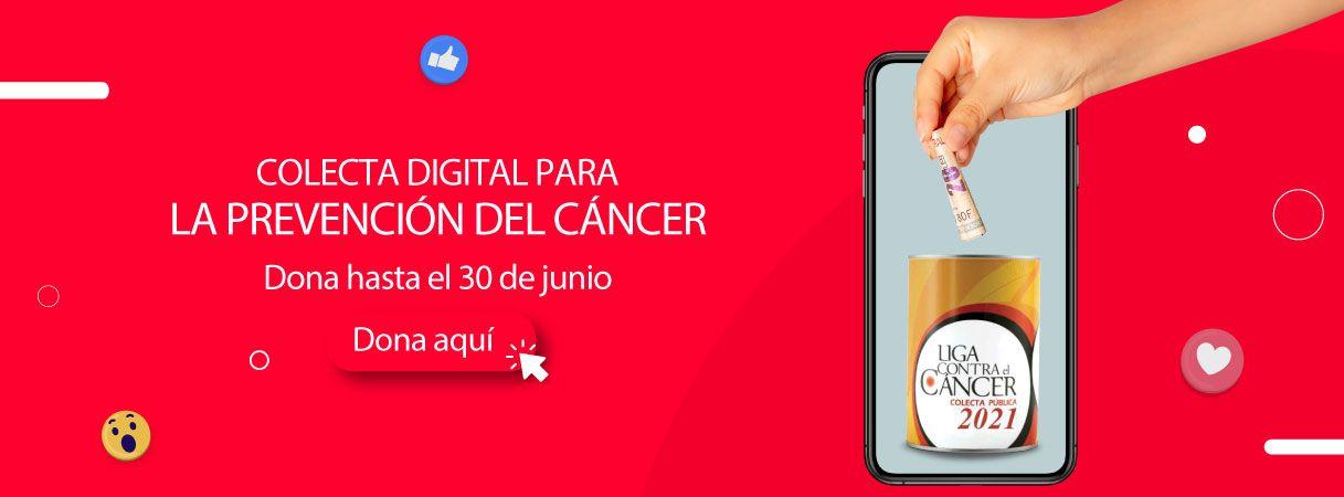 Colecta digital para la prevención del cáncer - Mall del Sur