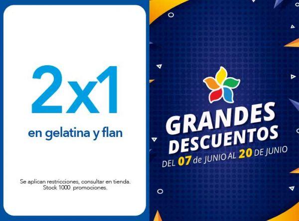 2X1 EN GELATINA Y FLAN - Plaza Norte