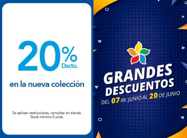 20% DSCTO. EN LA NUEVA COLECCIÓN - Plaza Norte
