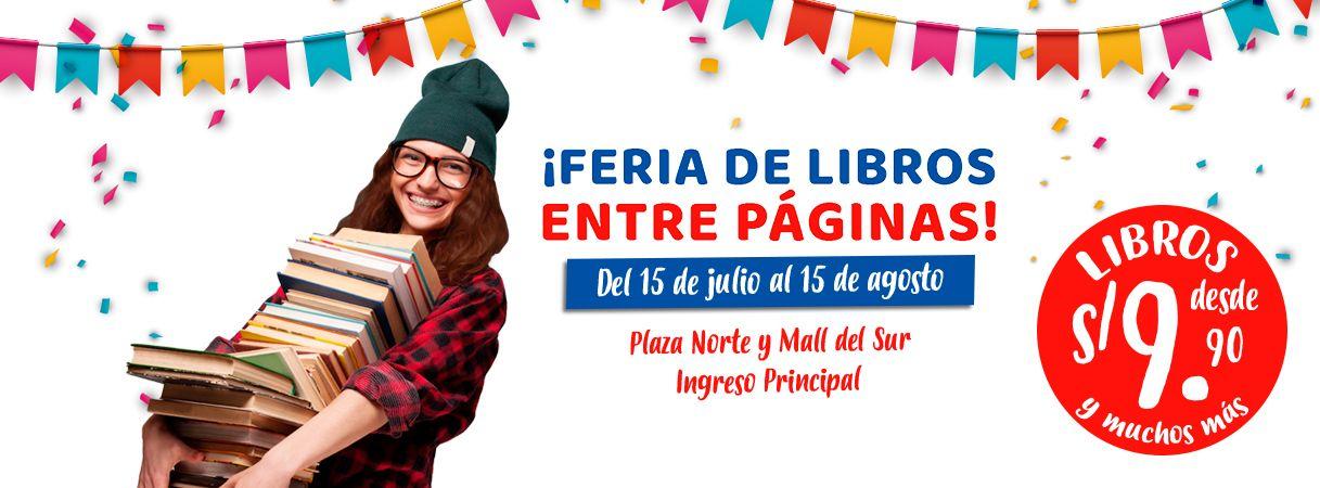 FERIA DE LIBROS ENTRE PÁGINAS - Mall del Sur