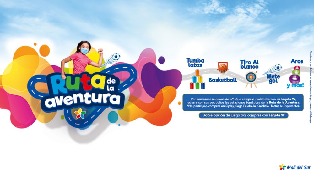 """""""Ruta de la Aventura""""- Mes del Niño - Mall del Sur"""