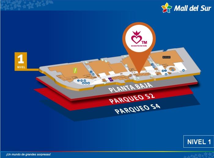 TM - Mapa de Ubicación - Mall del Sur