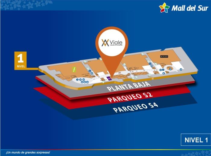 Viale - Mapa de Ubicación - Mall del Sur