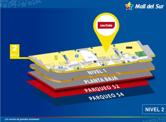 Oechsle - Mapa de Ubicación - Mall del Sur