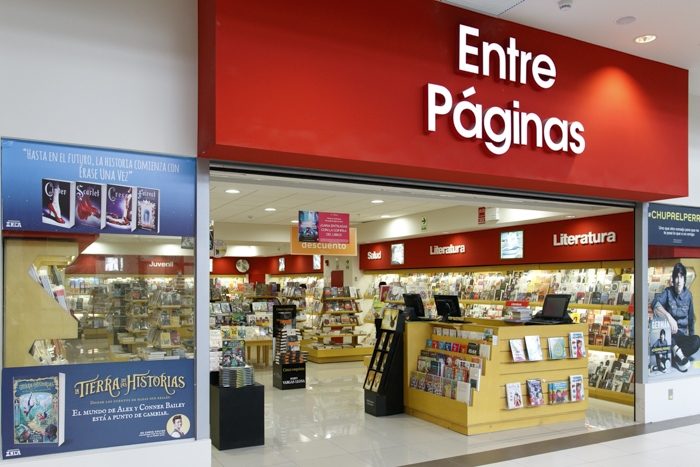 Entre páginas - Mall del Sur