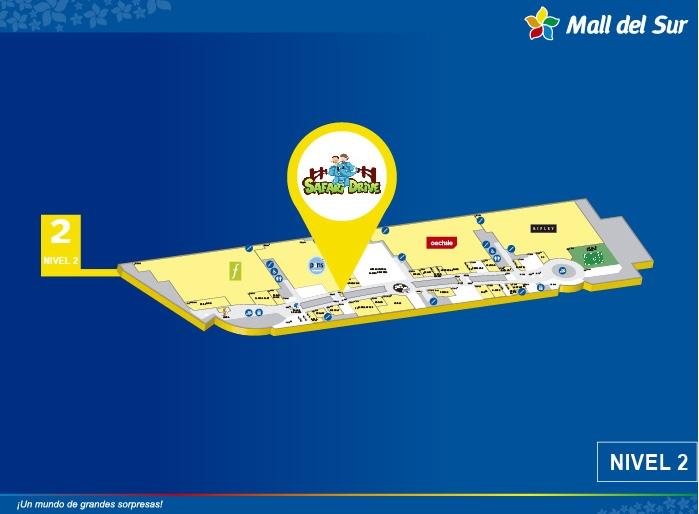 Safari Drive - Mapa de Ubicación - Mall del Sur