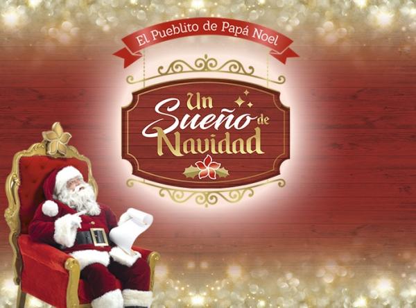 Papa Noel llegó a Mall del Sur con 'Sueños de Navidad' - Plaza Norte