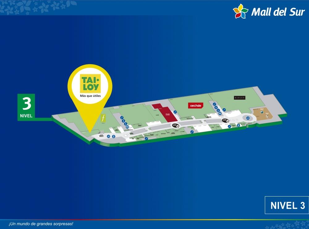 Tai Loy - Mapa de Ubicación - Mall del Sur