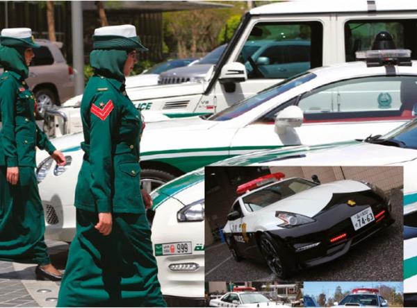 Los autos de policía más espectaculares del mundo - Plaza Norte