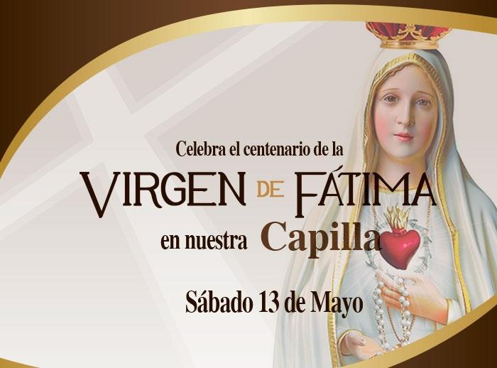 ¡Celebración de los 100 años de la aparición de la Virgen de Fátima!  - Mall del Sur