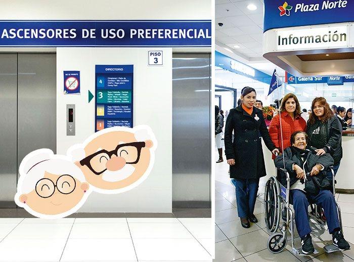 LOS ABUELITOS NOS VISITAN - Mall del Sur