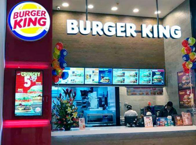 Burger King - Mall del Sur