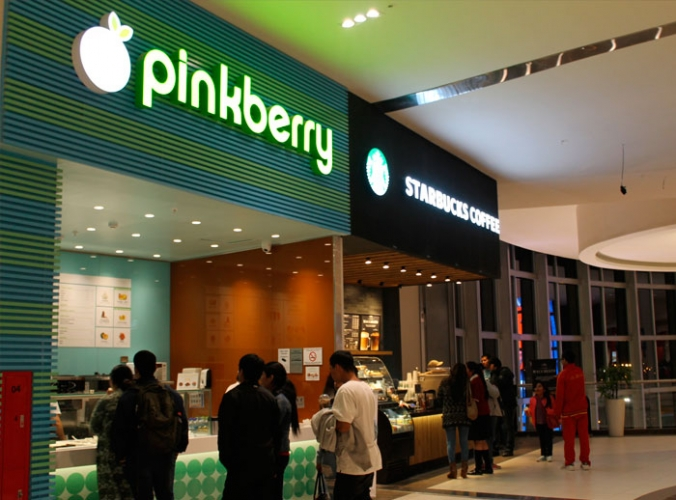 Pinkberry - Mall del Sur