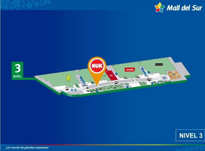 NUK - Mapa de Ubicación - Mall del Sur