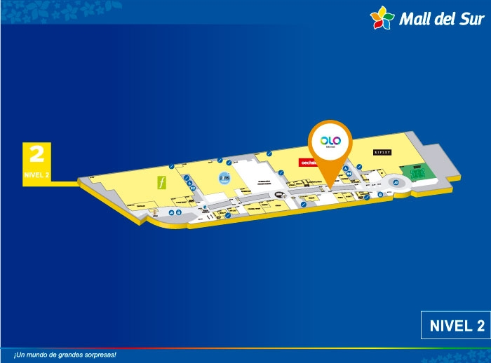 OLO - Mapa de Ubicación - Mall del Sur