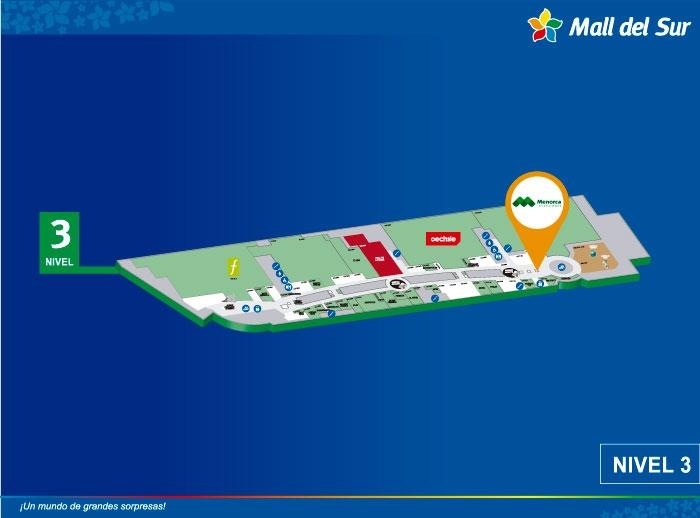 MENORCA - Mapa de Ubicación - Mall del Sur