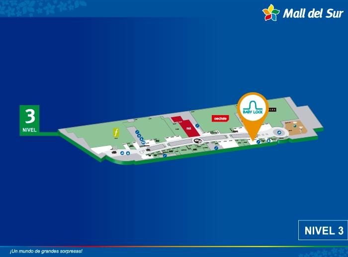 BABY LOCK - Mapa de Ubicación - Mall del Sur