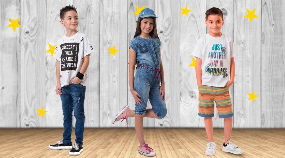 Outfits de verano para niños - Mall del Sur