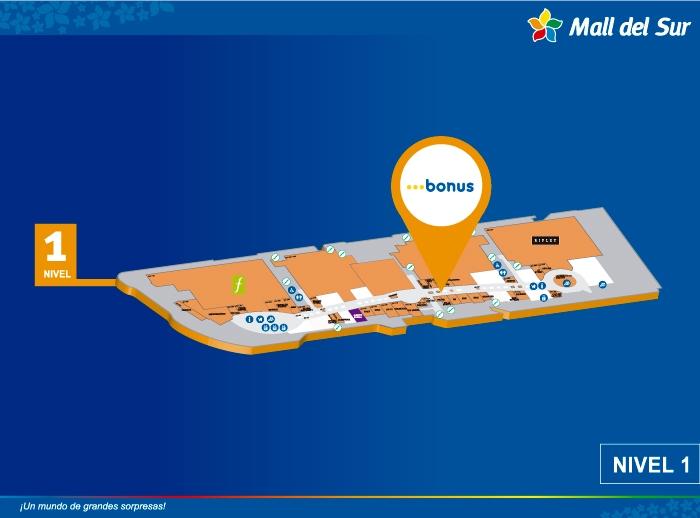BONUS  - Mapa de Ubicación - Mall del Sur