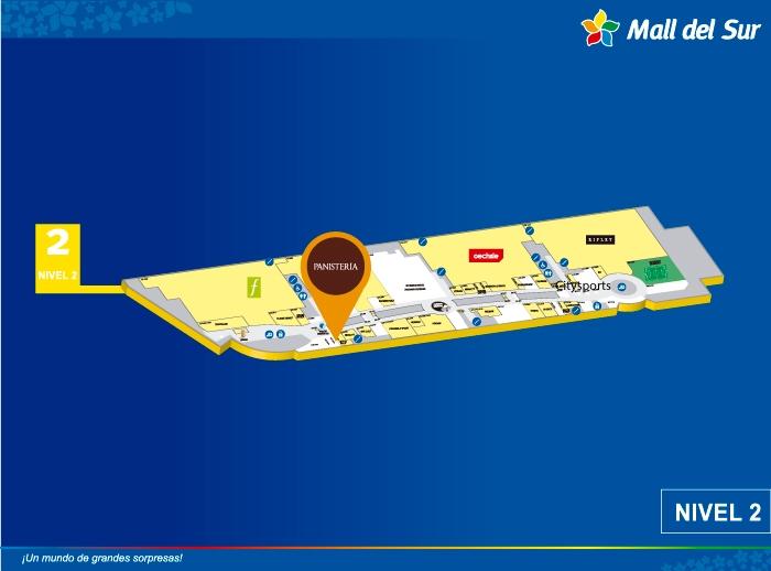 PANISTERIA - Mapa de Ubicación - Mall del Sur