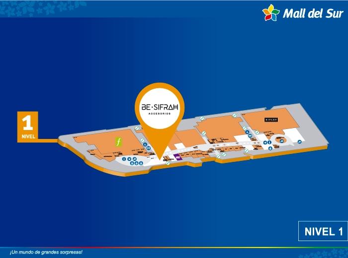 BE SIFRAH - Mapa de Ubicación - Mall del Sur