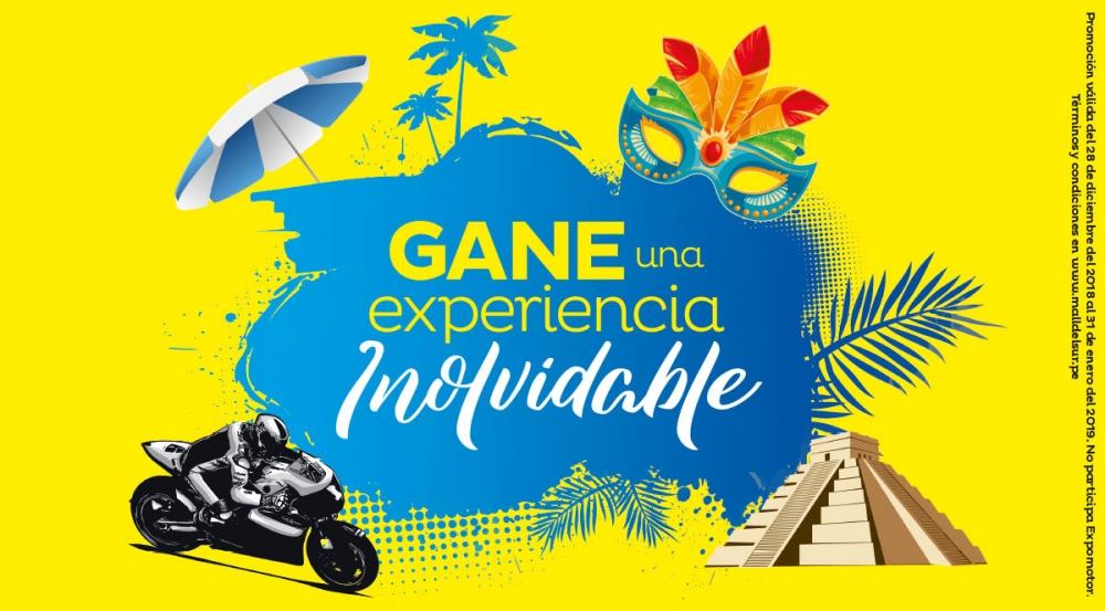 GANE UNA EXPERIENCIA INOLVIDABLE  - Mall del Sur