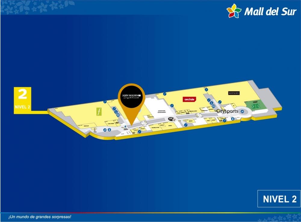 JOHN HOLDEN - Mapa de Ubicación - Mall del Sur
