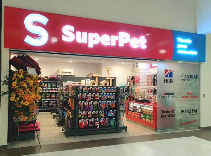 SUPERPET - Mall del Sur