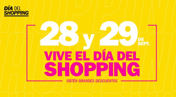 """""""DÍA DEL SHOPPING""""  - Mall del Sur"""