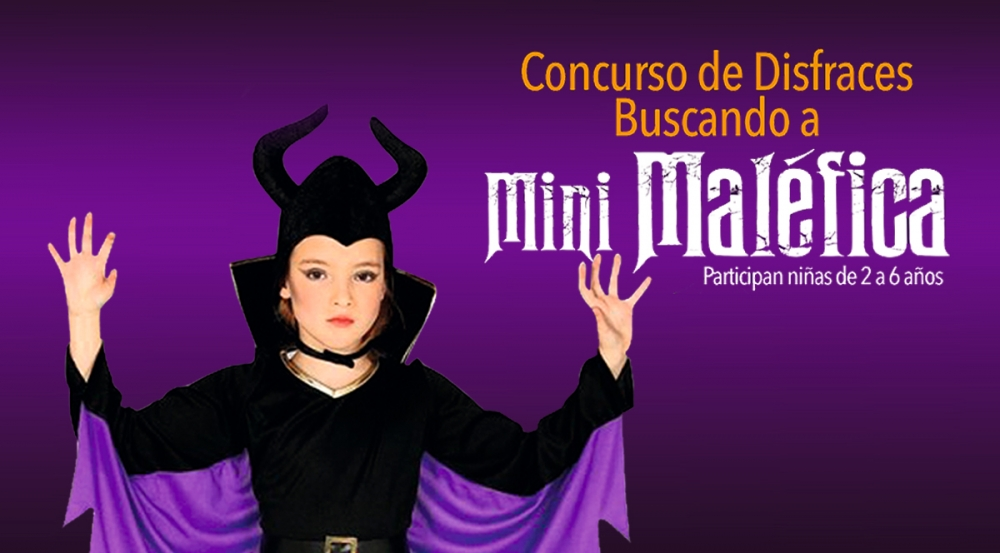 CONCURSO DE DISFRACES: BUSCANDO A MINI MALÉFICA - Mall del Sur