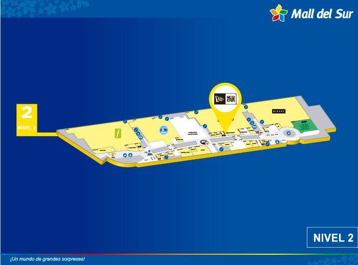NEW ERA  - Mapa de Ubicación - Mall del Sur