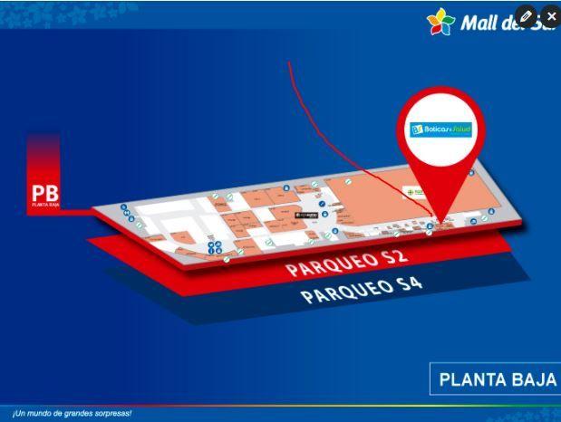 LA CASA DEL ALFAJOR - Mapa de Ubicación - Mall del Sur