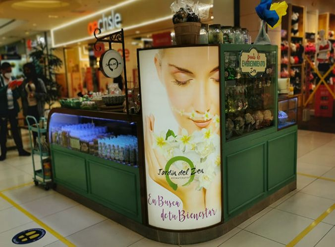 JARDÍN DEL ZEN - Mall del Sur