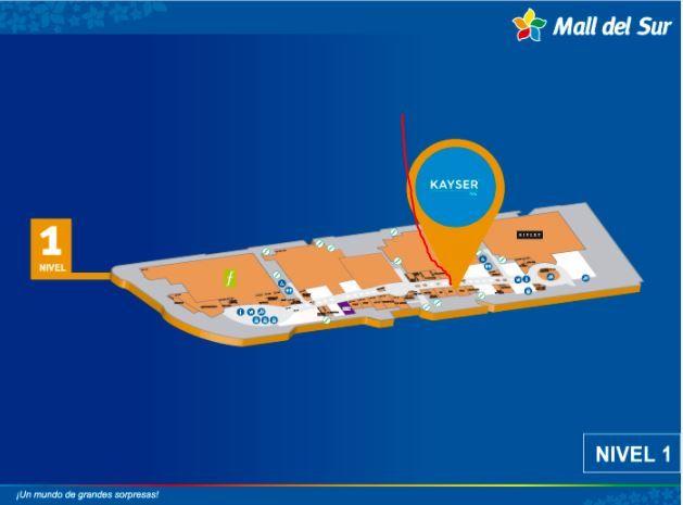 JARDÍN DEL ZEN - Mapa de Ubicación - Mall del Sur