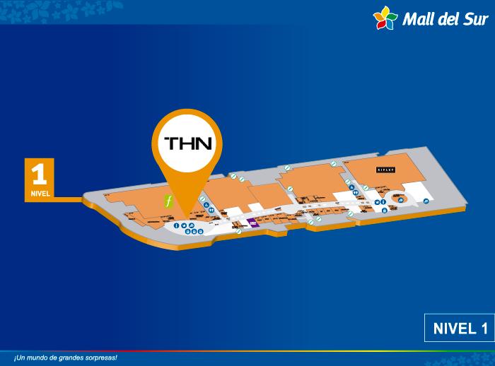 THN - Mapa de Ubicación - Mall del Sur